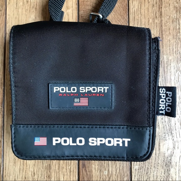 VTG Ralph Lauren Polo Sport Black Mini Crossbody.  M 5b2beb9f12cd4adb6c3a0b4b. Other Bags ... 01e27ce2e62dc